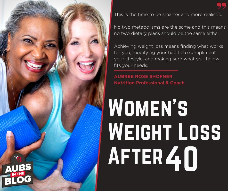 Women's Weight Loss After 40