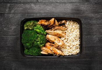 Sweet Chili Lime Chicken #2, Brown Rice, Broccoli