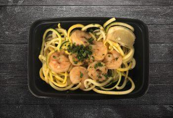 Keto Lemon-Garlic Shrimp