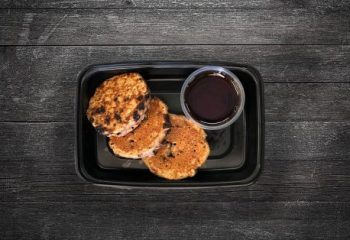 Kids Chocolate Chip Mini Protein Pancakes