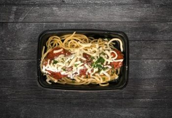 Kids Spaghetti and Meatballs