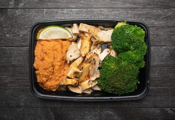 Sweet-Chili Lime Chicken with Sweet Potato Mash