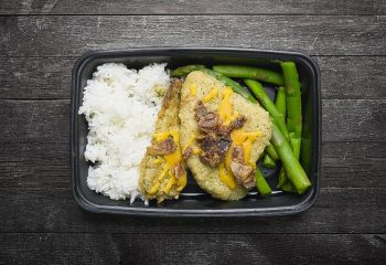 Bacon Ranch Chicken with Asparagus