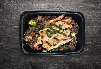 Chiavetta's Grilled Chicken with Grilled Vegetable Quinoa