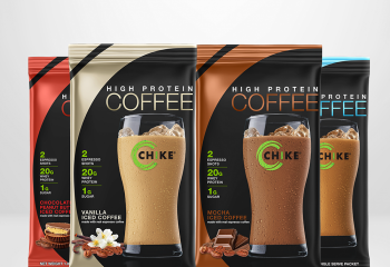 CHIKE High Protein Iced Coffee - 16 oz bag
